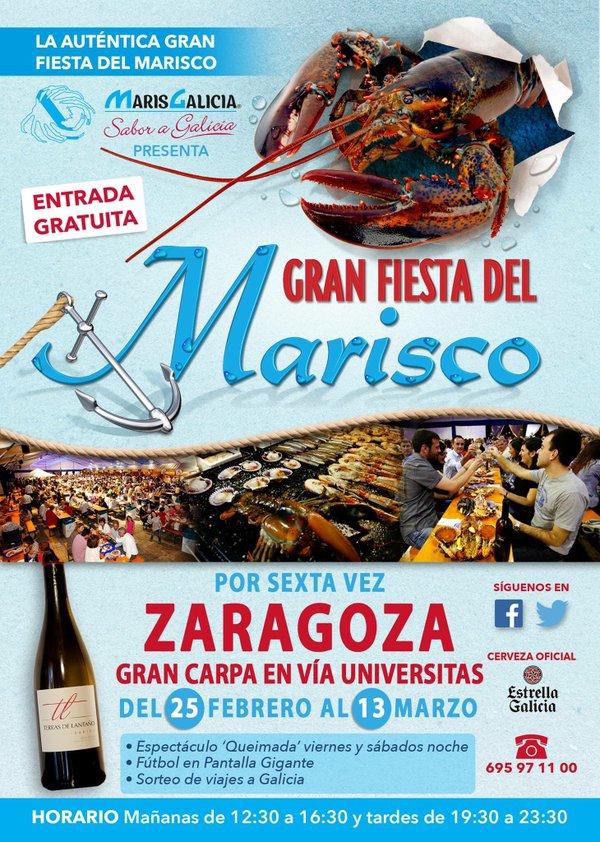 Cartel MarisGalicia Zaragoza