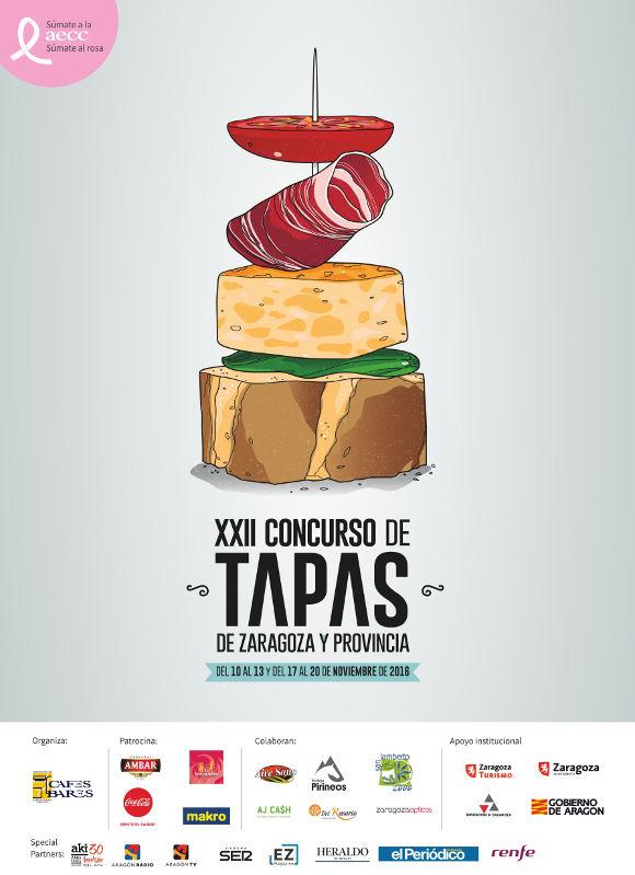 Concurso de tapas Zaragoza 2016